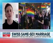 Switzerland will hold a referendum on whether to push ahead with same-sex marriage.